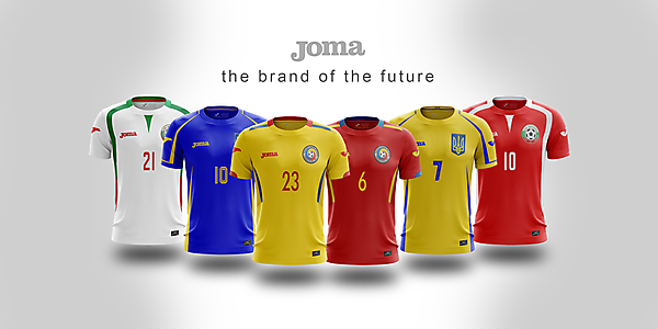 Joma - 3x3 - templates x nations
