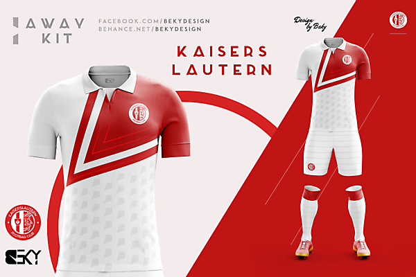 Kaiserslautern Away Kit Proposal