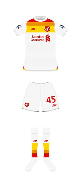 Liverpool Away front
