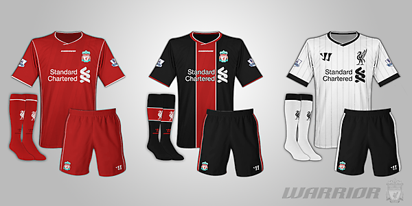 Liverpool Warrior Kits
