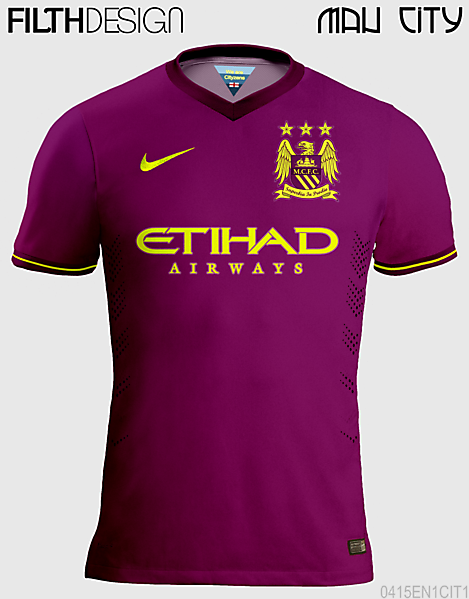 Man City Away Design