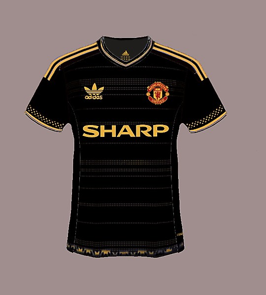 Manchester United retro redesigned