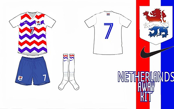 Netherlands Away Kit