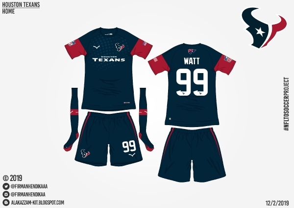 #NFLtoSoccerProject - Houston Texans (Home)