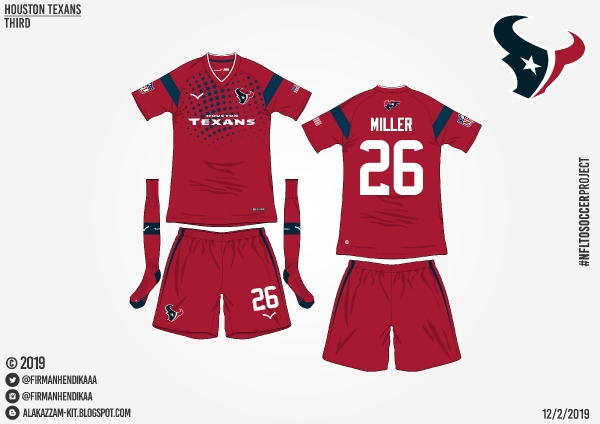 #NFLtoSoccerProject - Houston Texans (Third)