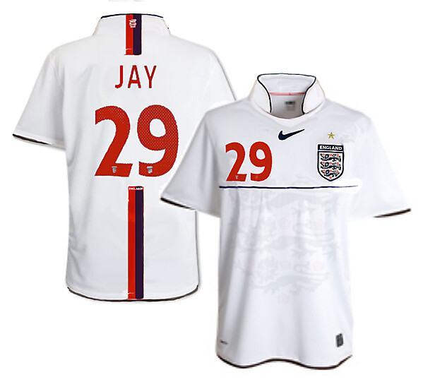 Nike England Home Shirt 3