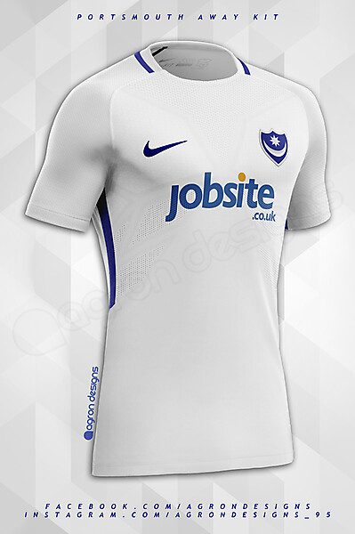 Nike Portsmouth FC Away Kit Concept