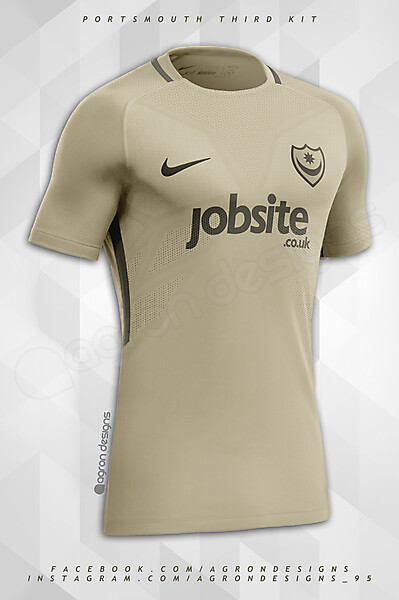 Nike Portsmouth FC Third Kit Concept