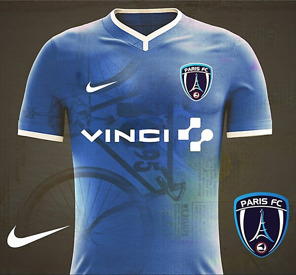 Paris FC Home Kit 17/18