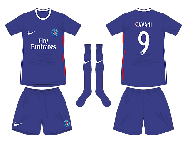 Paris Saint Germain Home Kit