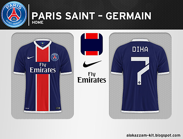 Paris Saint-Germain Home