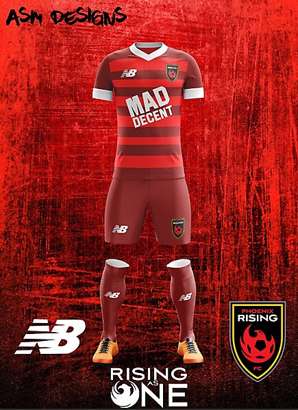 Phoenix Rising FC New Balance 2018 Home KIt