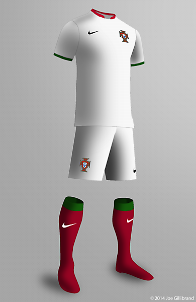 Portugal WC Away Concept