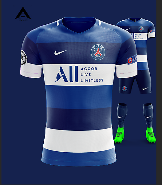 PSG Nike 2021 Away Kit