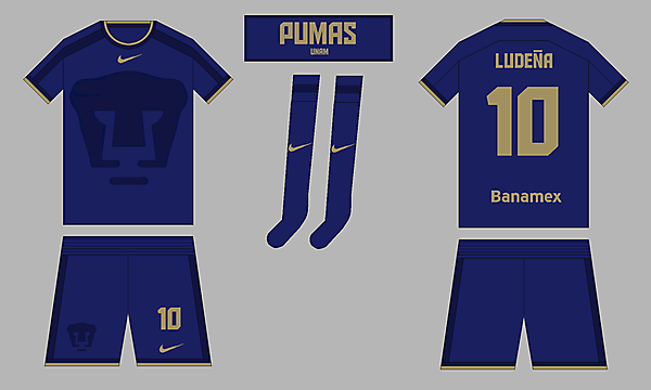 Pumas UNAM - Away kit