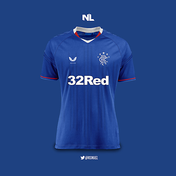 Rangers Football Club - Home Kit 2020/21 Concept