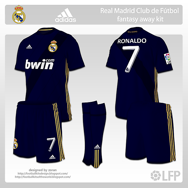 Real Madrid fantasy away