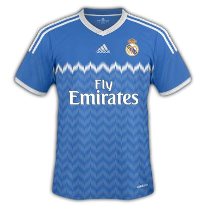 Real Madrid Away Fantasy Kit 2014/2015