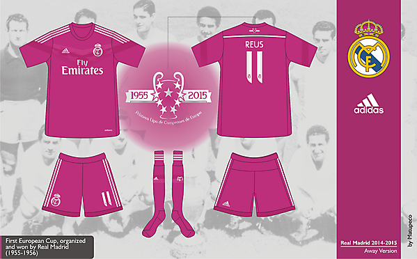Real Madrid Away Kit 2014/2015 - Prediction
