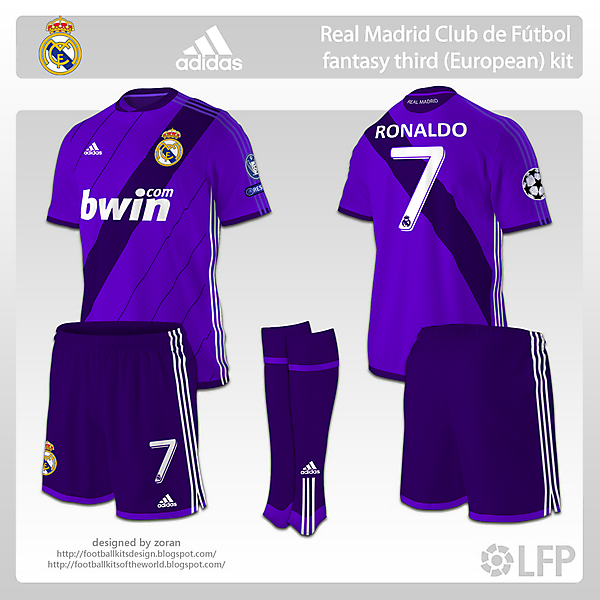 Real Madrid fantasy third