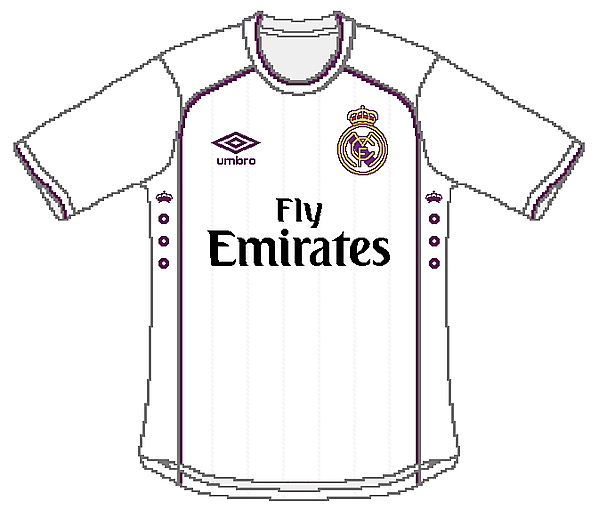 Real Madrid Umbro Home