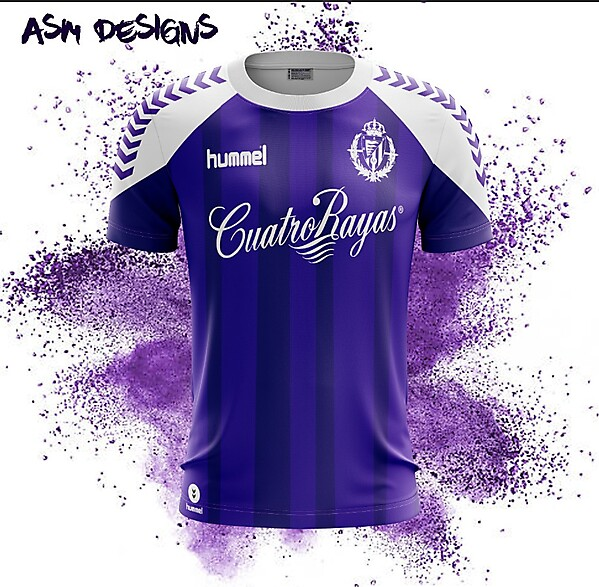 Real Valladolid Hummel 2018 Home Kit