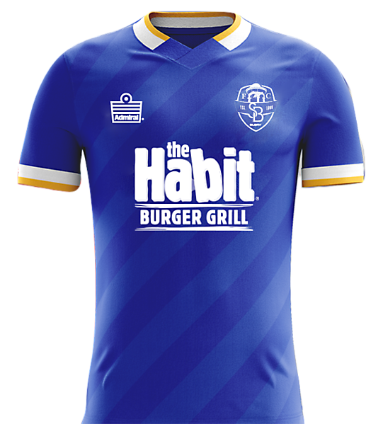 SB Glory FC Home kit
