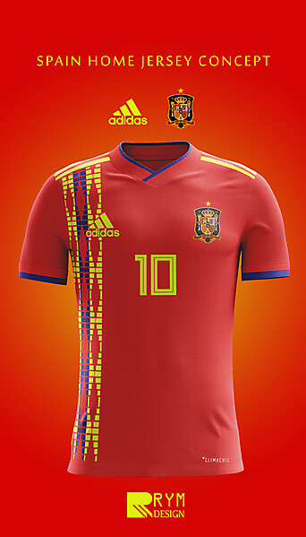 Spain Home Jersey Concept