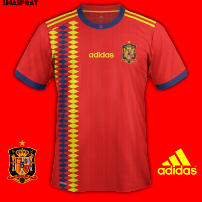 95654e718d2 Spain Home World Cup 2018