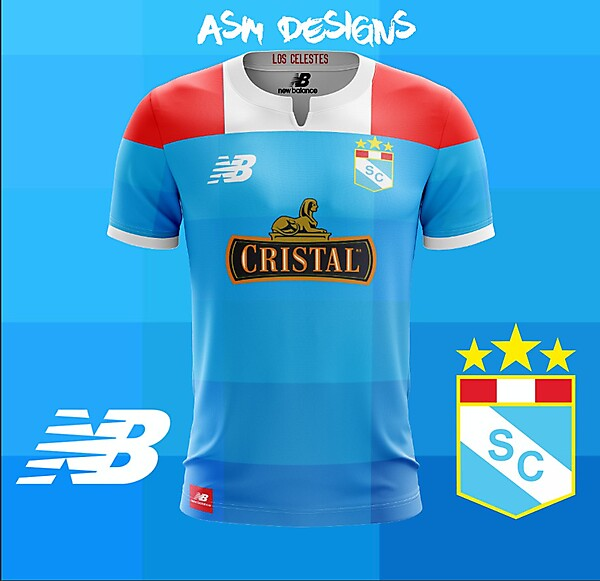 Sporting Cristal 2018 New Balance Home Kit