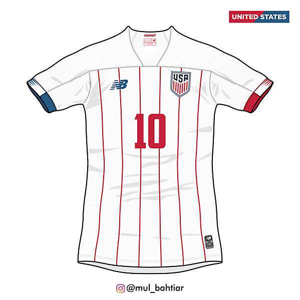 United States 2020 New Balance Home Jersey Concept