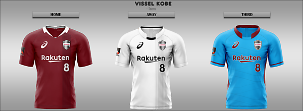 Vissel Kobe -- Home/Away/Third