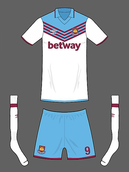 West Ham away kit