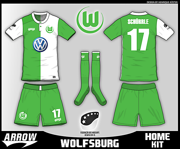 Wolfsburg - Home kit - Fantasy