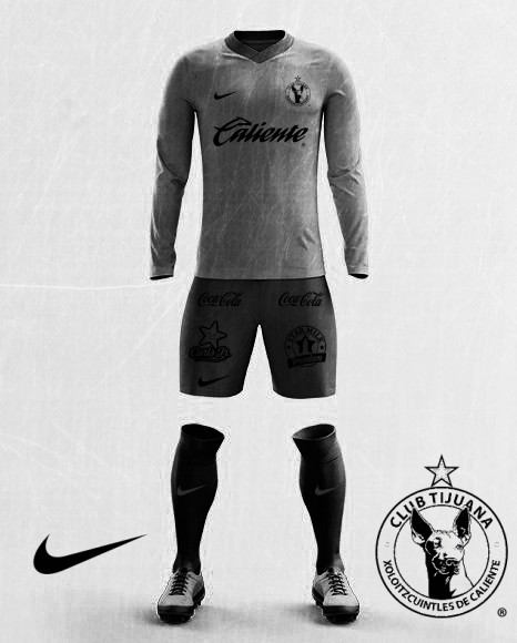 Xolos NIke away edited 2017/18