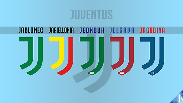 Juventus Logo on other clubs