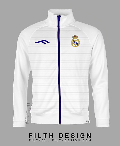 Real Madrid Tracksuit - F Sports