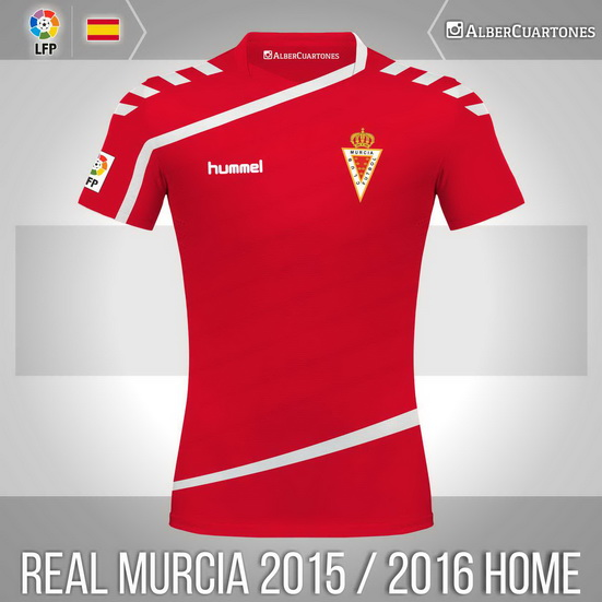 Real Murcia 2015 / 2016 Home Shirt