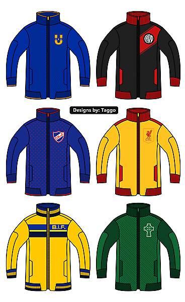 Some Track Jackets