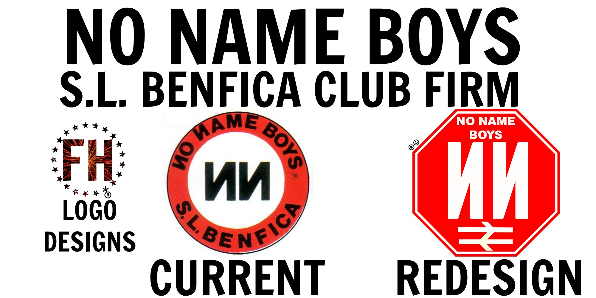 No Name Boys (SLB Club Firm) New Crest Idea