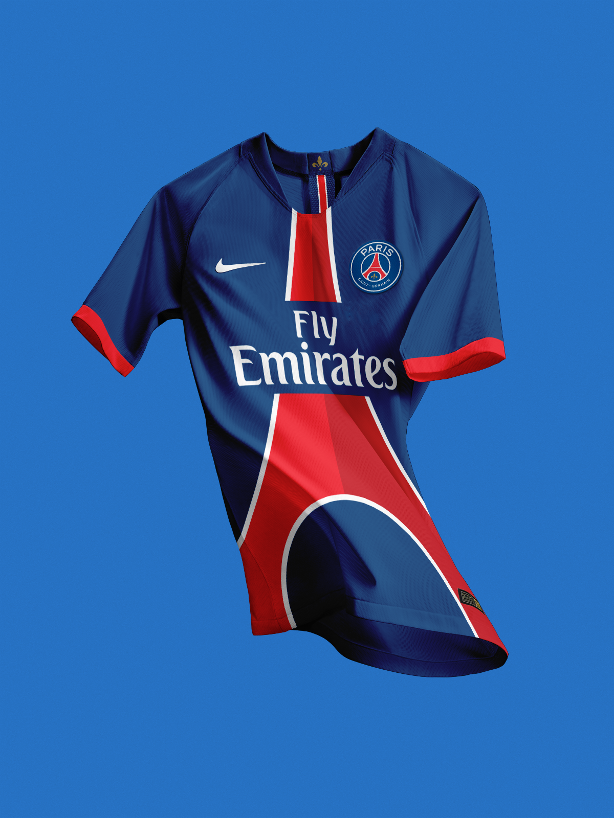 Nm Very Interesting Psg Kit Concept Usual White And Red Stripes Used To Shape The Eiffel Tower On This One Kitsforfootball