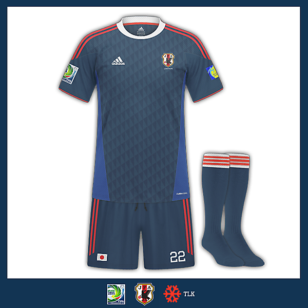 Triángulo Japan Home Kit