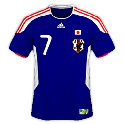 Japan Home Kit Confederations cup 2013 by Gordon60