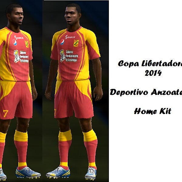 Deportivo Anzoategui Home Kit