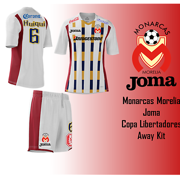 Joma - Monarcas Morelia Away Kit