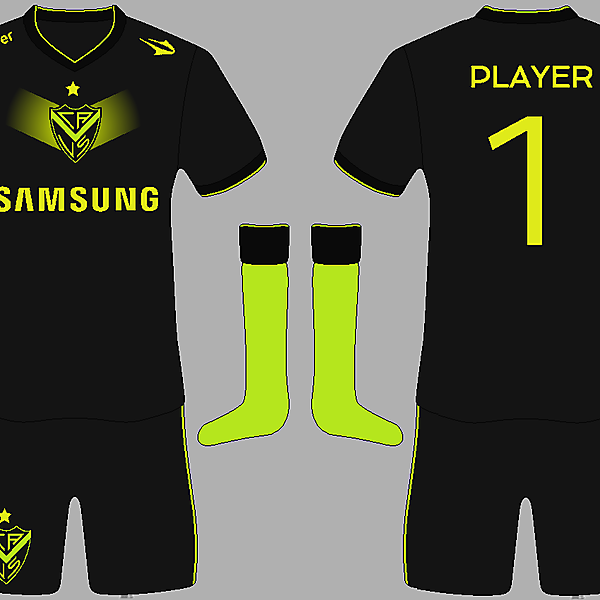 Velez away kit