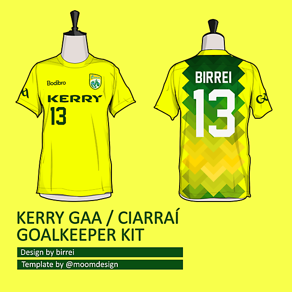 Kerry GAA GK kit *SELECT NAME TEAMWEAR*