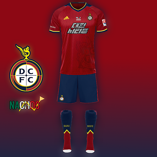 Daejeon Citizen FC kit by Nachos 2018 K League Challenge