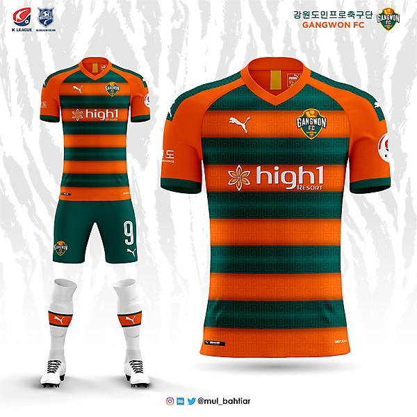 Gangwon FC Home Kit Concept