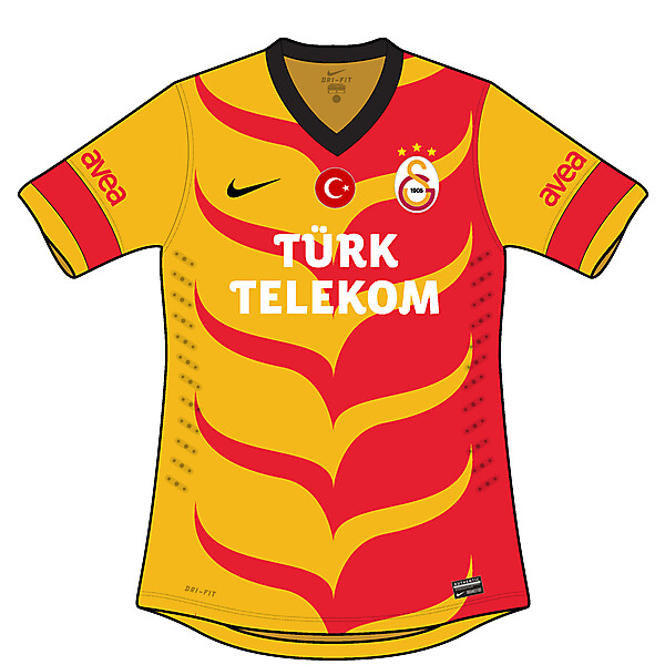 Galatasaray 90s inspired jersey